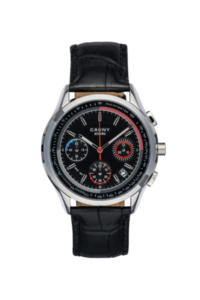 ACCURA BLACK CHRONOGRAPH