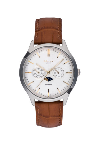 LEGACY MOON-PHASE MULTIFUNCTIONS SILVER