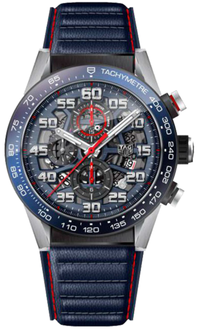 CARRERA CALIBRE HEUER 01 RED BULL SPECIAL EDITION